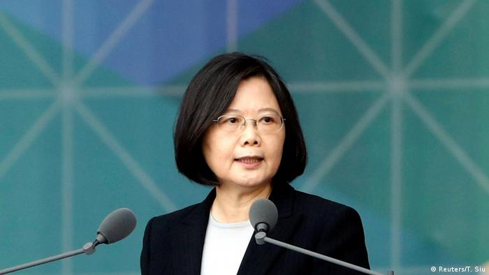 Taiwan Präsidentin Tsai Ing-wen (Reuters/T. Siu)