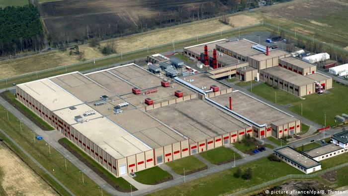 Deutschland Urananreicherungsanlage Urenco in Gronau