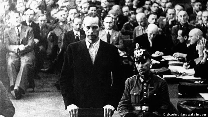 Germany, trial of Graf York v. Wartenburg in 1944 (picture-alliance/akg-images)