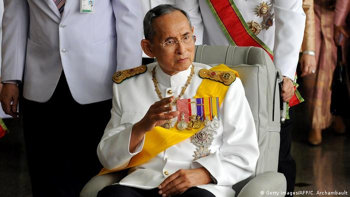 Thailand König Bhumibol Adulyadej (Getty Images/AFP/C. Archambault)