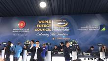 10.10.2016+++ Türkei Weltenergiekongress ( World Energy Council WEC ) in Istanbul +++ (C) DW/S. Bilen