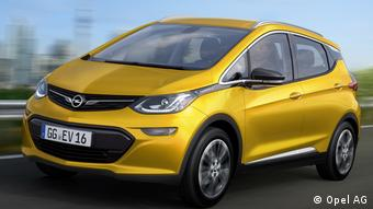 Модель Opel Ampera-e 2017