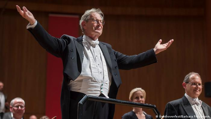 Sir Elliot Gardiner at the finale of the Beethovenfest 2016 (Beethovenfest/Barbara Frommann)