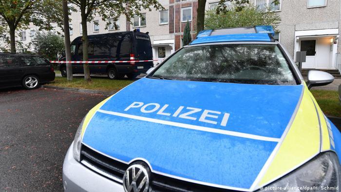 Deutschland Terrorverdächtiger in Leipzig gefasst (picture-alliance/dpa/H. Schmid)