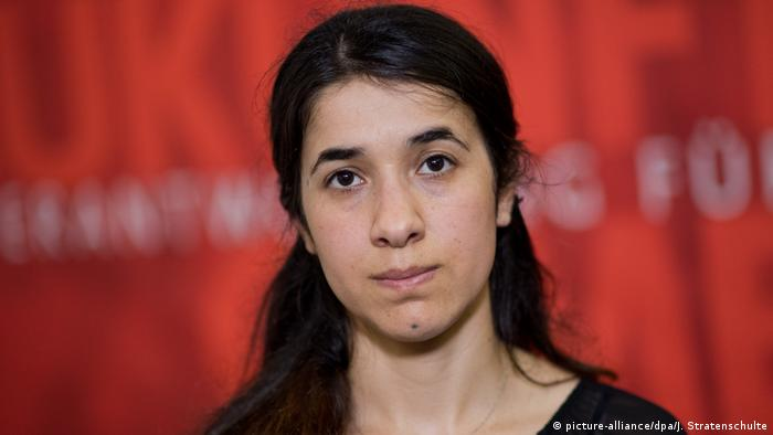 Nadia Murad (picture-alliance/dpa/J. Stratenschulte)
