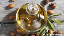 Flasche mit Arganöl