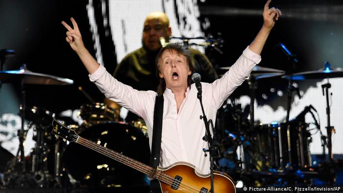 Paul McCartney live 2016 (Foto: Picture-Alliance/C. Pizzello/Invision/AP)