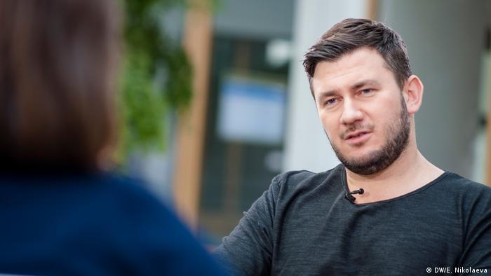 Российский писатель Дмитрий Глуховский