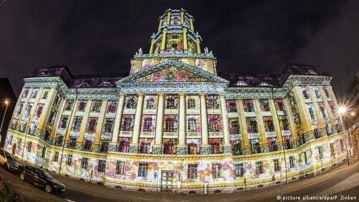 Berlin leuchtet Festival of Lights (picture alliance/dpa/P. Zinken)