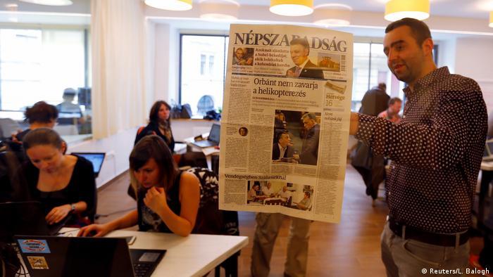 Uredništvo novina Nepszabadsag