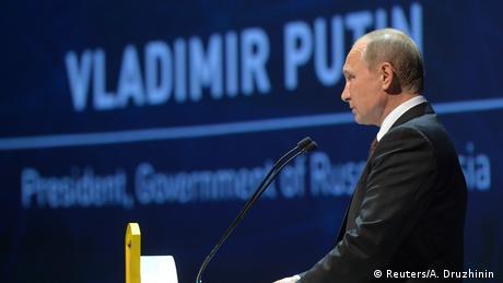 Türkei Weltenergiekongress 2016 in Istanbul - Rede Putin (Reuters/A. Druzhinin )