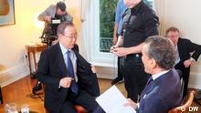 DW Conflict Zone - Gast Ban Ki-moon