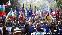 Chile Mapuche Widerstand in Santiago