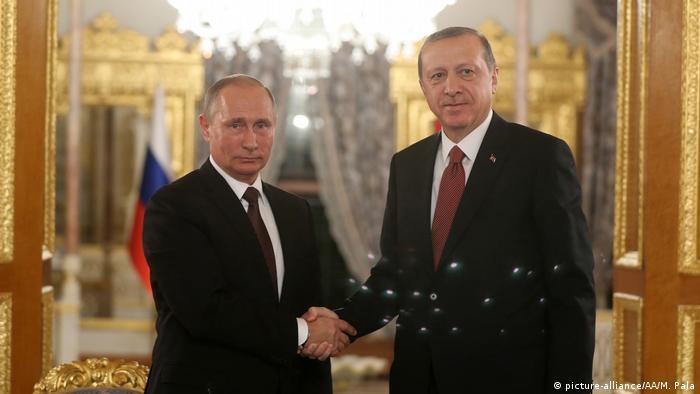 Türkei Weltenergiekongress 2016 in Istanbul - Putin und Erdogan