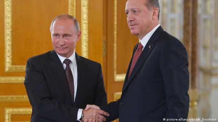 Rusya Devlet Başkanı Vladimir Putin ve Cumhurbaşkanı Recep Tayyip Erdoğan (Foto: Arşiv)