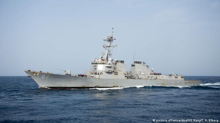 US Kriegsschiff USS Mason der US Navy (picture-alliance/dpa/US Navy/T. A. Elberg)