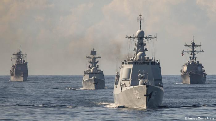 US Kriegsschiff USS Mason der US Navy (Imago/ZumaPress)
