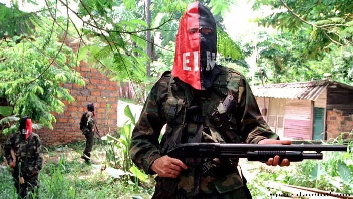 Kolumbien ELN National Liberation Army Rebellen (picture-alliance/dpa/El Tiempo)