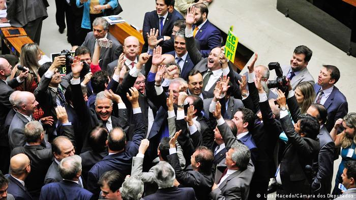 Brasilien Sitzung im brasilianischen Abgeordnetenhaus