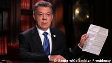 Kolumbien Präsident Santos