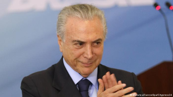 Michel Temer (picture-alliance/dpa/Citypress24)