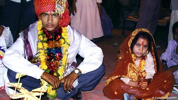 Indien Kinderhochzeit (Getty Images/AFP)