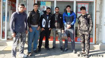 Refugiaţi sirieni la Harmanli