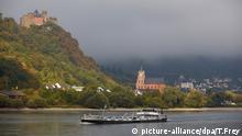 Herbststimmung am Mittelrhein BdT Schönburg und Liebfrauenkirche