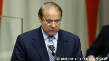 Muhammad Nawaz Sharif speaks at summit meeting for refugee crisis at the UN