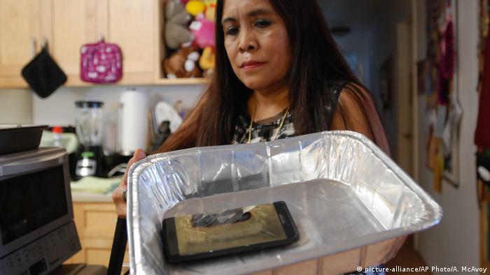 USA Samsung Galaxy Note 7 geht in Flammen auf (picture-alliance/AP Photo/A. McAvoy)
