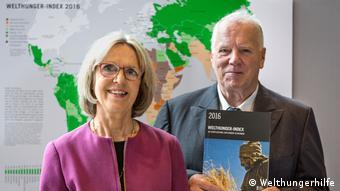 Η επικεφαλής της γερμανικής Οργάνωσης Κατά της Παγκόσμιας Πείνας Welthungerhilfe Μπέρμπελ Ντίκμαν