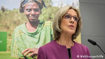 Bärbel Dieckmann, presidenta de la organización humanitaria alemana Welthungerhilfe.