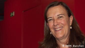La eurodiputada española Inés Ayala Sender, que integra la comisión por los derechos de la mujer
