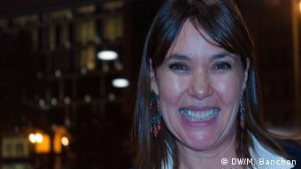La cineasta española Mabel Lozano trabaja hace once años sobre el tema de la trata de mujeres.