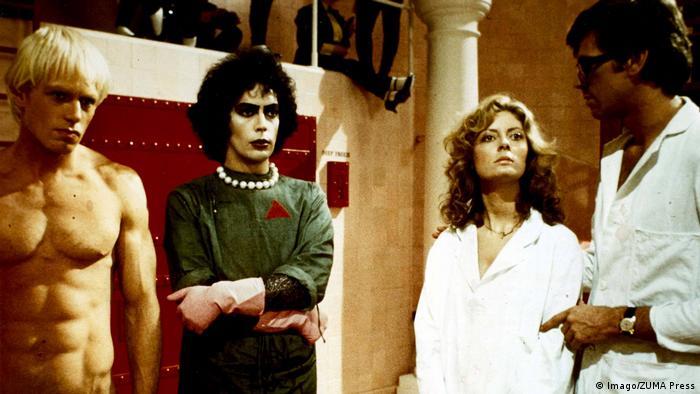 Filmausschnitt aus Rocky Horror Picture Show von 1975 (Imago/ZUMA Press)