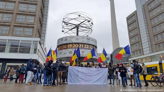 Berlin Demonstration Anti Idriss Deby