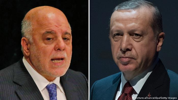Bildkombo Haideral-Abadi / Recep Erdogan (picture-alliance/dpa/Getty Images)