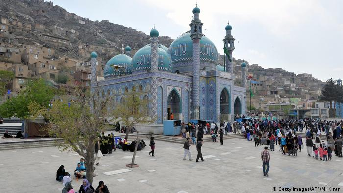 Afghanistan Karte Sakhi Schrein in Kabul (Getty Images/AFP/M. Kiran)