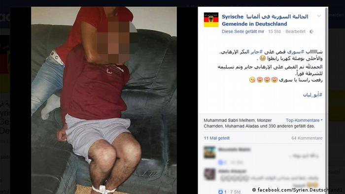 El sospechoso de terrorismo, Jaber al-Bakr, refugiado sirio que habitaba en Chemnitz, se ahorcó en su celda de reclusión, no sin antes inculpar a quienes lo entregaron a la Policía el fin de semana pasado en Leipzig. (12.10.2016)