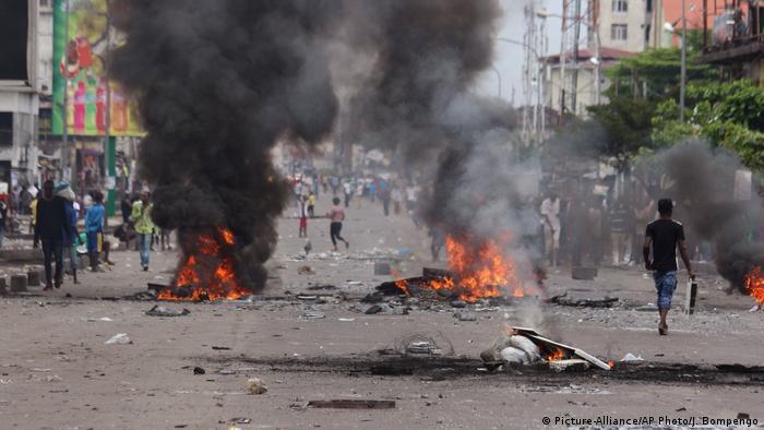 Demokratische Republik Kongo Unruhen