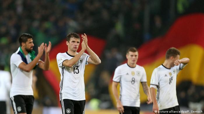 Fußball WM-Qualifikation Deutschland Nordirland (picture-alliance/dpa/F. Gentsch)