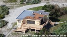 USA Kennedy Space Center nach dem Hurrikan Matthew in Florida