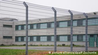 Одна из немецких тюрем для подлежащих депортации