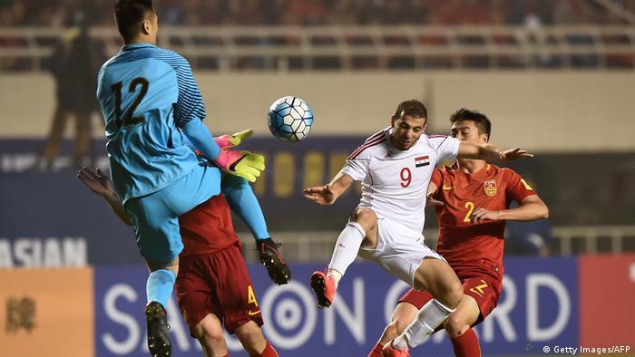Fußball Weltmeisterschaft 2018 Qualifikation Syrien gegen China (Getty Images/AFP)