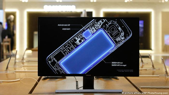 Samsung phone (picture-alliance/AP Photo/Young-joon)