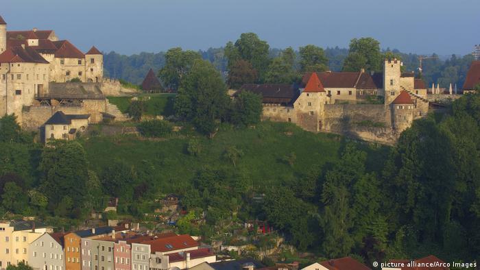 Burghausen en Bavaria