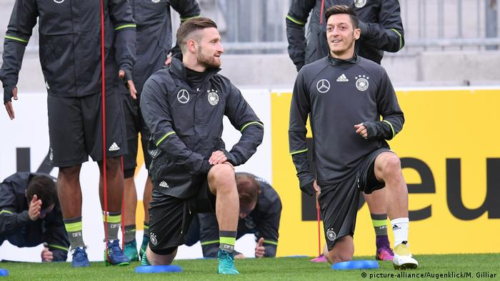 Deutschland Training Nationalmannschaft Fußball in Hamburg