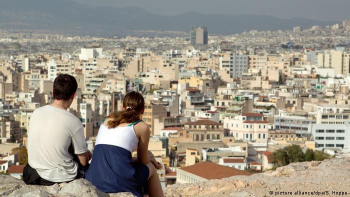 Farben der Städte - Athen (picture alliance/dpa/S. Hoppe)