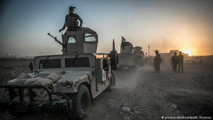 Irak Kampf gegen IS (picture-alliance/dpa/A. Dicenzo)