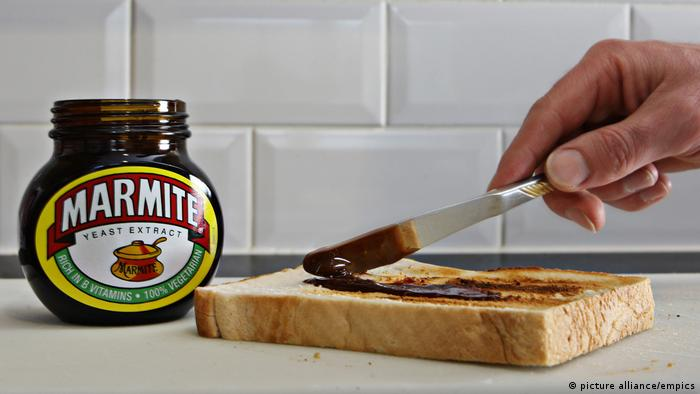 Marmite and a piece of toast